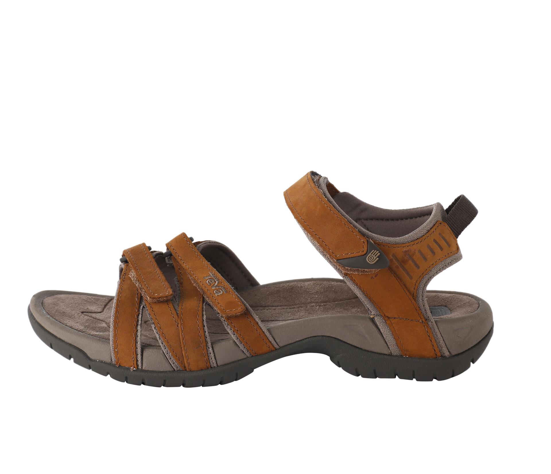 Teva Tirra Leather Sandals Damen rust